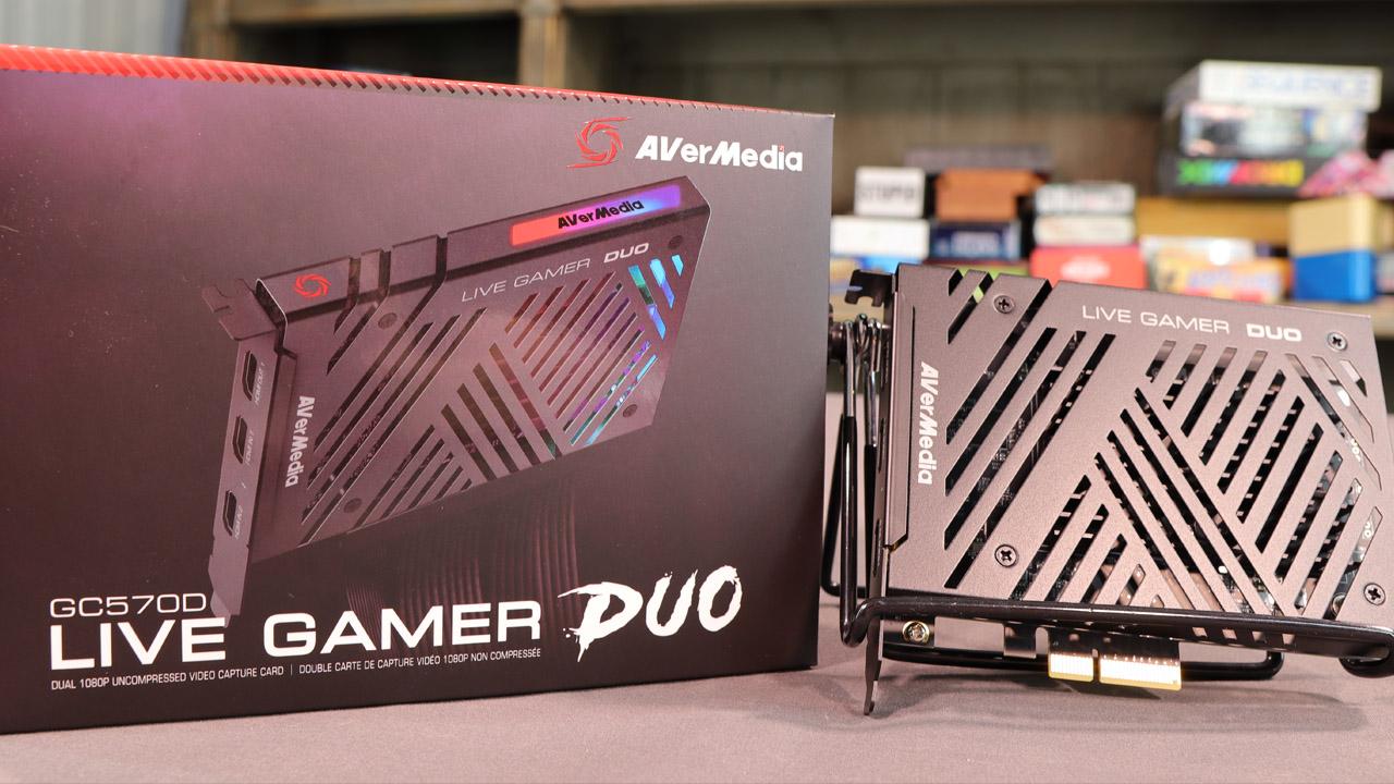 AVerMedia Live Gamer Duo Capture Card